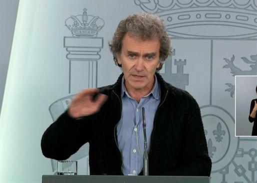 Fernando Simón, director del Centro de Alertas Sanitarias.