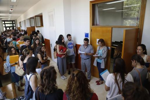 Imagen de la convocatoria de oposiciones a docentes del pasado mes de junio.