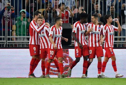 Imagen de archivo del Atlético de Madrid.