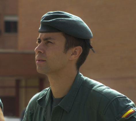 El teniente coronel del GAR de la Guardia Civil Jesús Gayoso.
