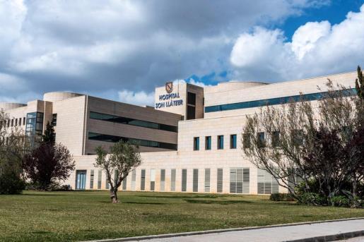 Imagen del exterior del hospital Son Llàtzer de Palma.