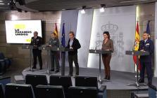 Rueda de prensa de los responsables técnicos de los ministerios competentes