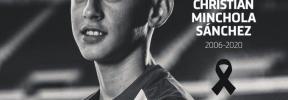 El Atlético, de luto por la muerte de un jugador infantil
