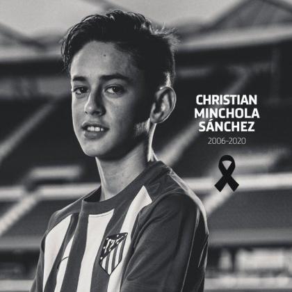 El joven Christian Minchola Sánchez.
