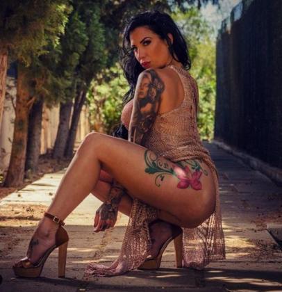 La mallorquina Eugenia Benavides, en su última publicación de Instagram.