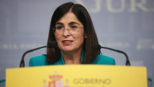 La ministra de Política Territorial y Función Pública, Carolina Darias, en una reciente imagen.
