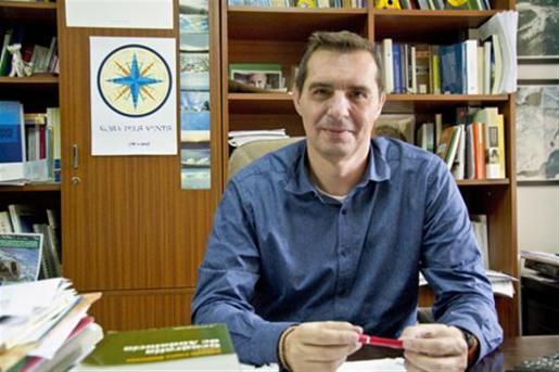 Imagen del presidente de la Asociación Española de Geografía (AGE) y catedrático de la Universidad de Alicante (UA), Jorge Olcina.