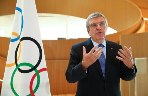 El presidente del Comité Olímpico Internacional, Thomas Bach.