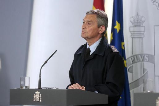 El Jefe del Estado Mayor de la Defensa (JEMAD) Miguel Ángel Villarroya.