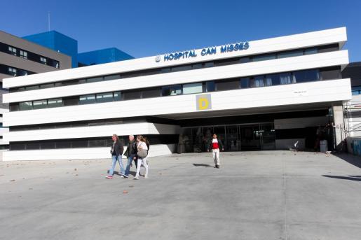 Vista general del hospital de Can Misses en Ibiza.
