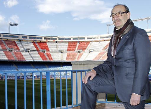 José Luis Capón, en una imagen retrospectiva en el estadio VIcente Calderón.