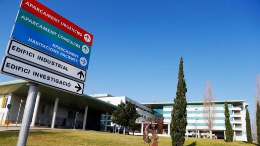 Imagen del Hospital Universitari de Son Espases, epicentro de acción contra la pandemia del COVID-19 en Baleares.