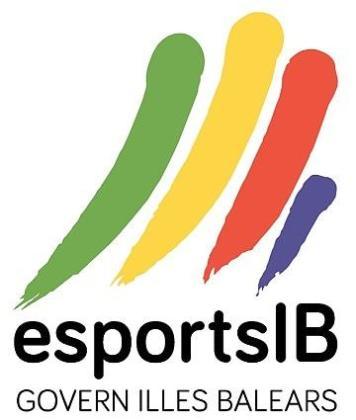 Imagen corporativa de la Fundació per a l'Esport Balear del Govern.