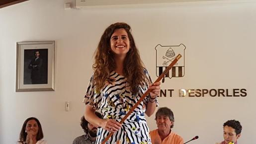 Maria Ramon, alcaldesa de Esporles.