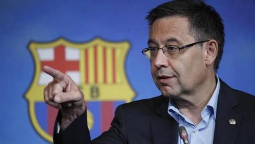 El presidente del Fútbol Club Barcelona, Josep Maria Bartomeu.