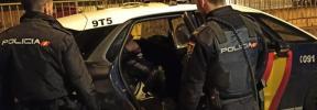 La Policía Nacional detiene a tres personas por forzar vehículos en Palma