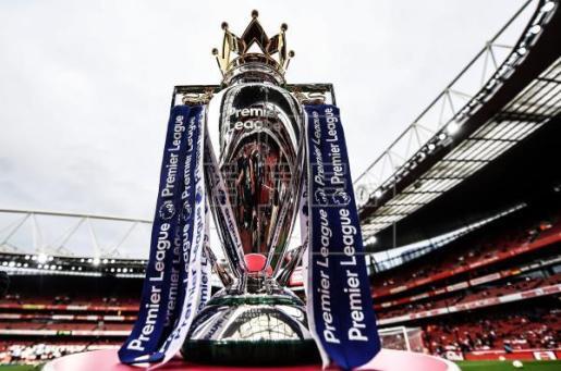 Imagen del trofeo de la Premier.