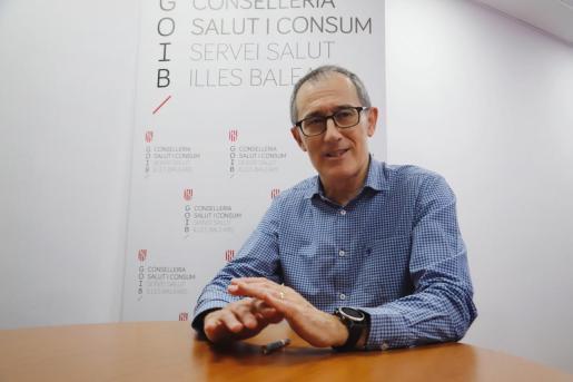 El portavoz del comité autonómico del coronavirus (orthocoronavirinae), el doctor Javier Arranz.