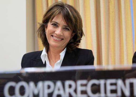 -FOTODELDÍA- GRAF3520. MADRID, 20/02/2020.- La exministra de Justicia, Dolores Delgado, actual fiscal general del Estado.