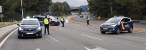 La policía levantó este martes cerca de 600 actas administrativas por desobediencia en Baleares