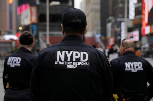Imagen de agentes de la policía de Nueva York.