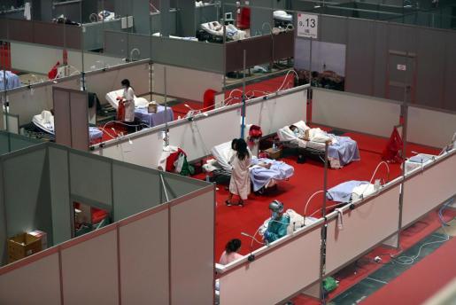 Imagen del hospital de IFema en Madrid.