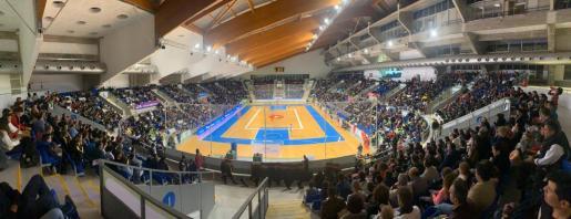 Imagen del Palau d'Esports de Son Moix, durante un partido del Palma Futsal.