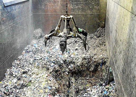 Imagen de la planta incineradora de residuos de Son Reus.