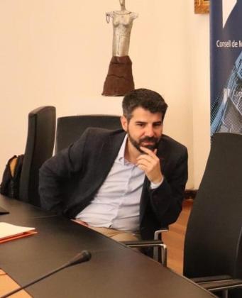 Javier de Juan, presidente del Institut Mallorquí d'Afers Socials.