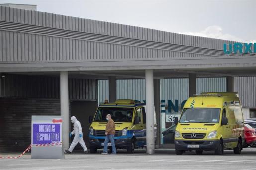 Imagen del hospital HULA de Lugo.
