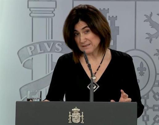 La doctora María José Sierra, en rueda de prensa.