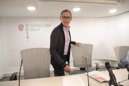 El doctor Javier Arranz, durante una reciente comparecencia.