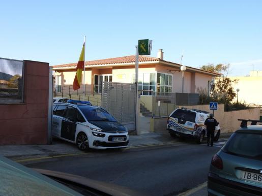 Imagen del cuartel de la Guardia Civil.