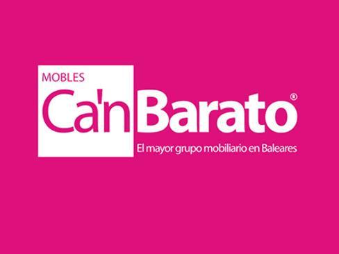 Logo de Ca'n Barato.