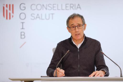 El portavoz del comité autonómico del coronavirus, Javier Arranz.