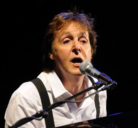 Paul McCartney, durante una actuación reciente.