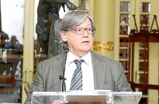 Vicenç Thomas, presidente del Parlament.