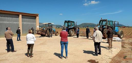 El sector de la patata realizó este lunes una reunión con los responsables de Agricultura tomando medidas de distanciamiento.