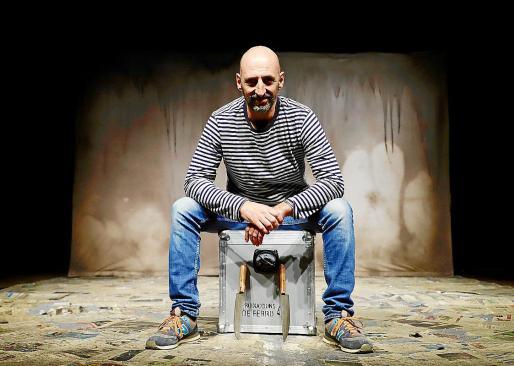 El actor, autor y gestor Toni Gomila trabaja en nuevos proyectos.