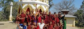 El mallorquín Jaume Covas vive la llegada del coronavirus desde Myanmar