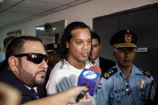 El exjugador brasileño Ronaldo de Assis Moreira, Ronaldinho.