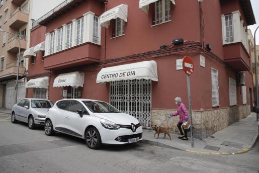 Imagen del exterior de la residencia de la tercera edad Elena.