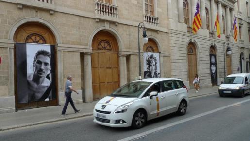 Fachada Teatre Principal de Palma.