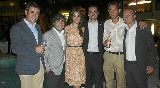 Alberto Hernández, Pedro Díez, Silvia Alonso, Antonio González, Alejandro de la Iglesia y Gori Vicens.