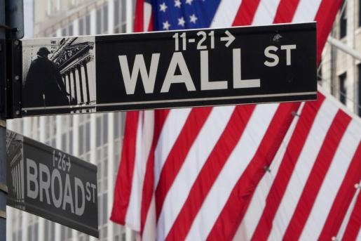 Imagen de Wall Street, en Nueva York.