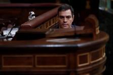 Pedro Sánchez, en el pleno para aprobar nueva prórroga del estado de alarma