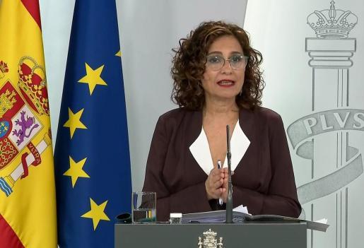 Maria Jesús Montero ha anunciado esta nueva ayuda.