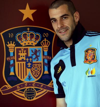 El delantero de la selección española, Álvaro Negredo.