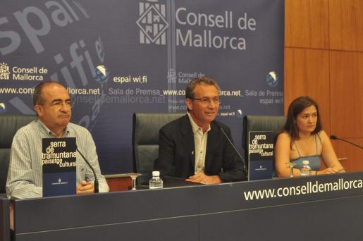 Jaume Garau, en el centro, en una imagen de archivo.