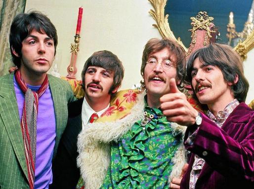 De izquierda a derecha, Paul McCartney, Ringo Starr , John Lennon y George Harrison.